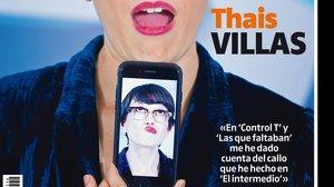 Portada del 'Teletodo' protagonizada por Thais Villas.
