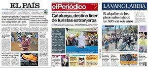 Prensa de hoy: Las portadas de los periódicos del viernes 2 de agosto del 2019