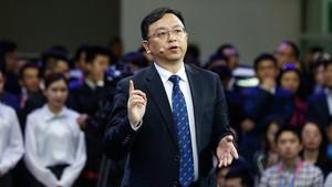 El presidente de BYD, Wang Chuanfu.