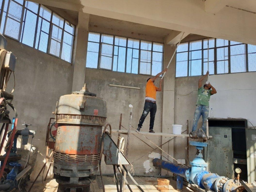 Proyecto de cooperacióninternacional del AMB para suministrar agua potable en Kobane, norte de Siria