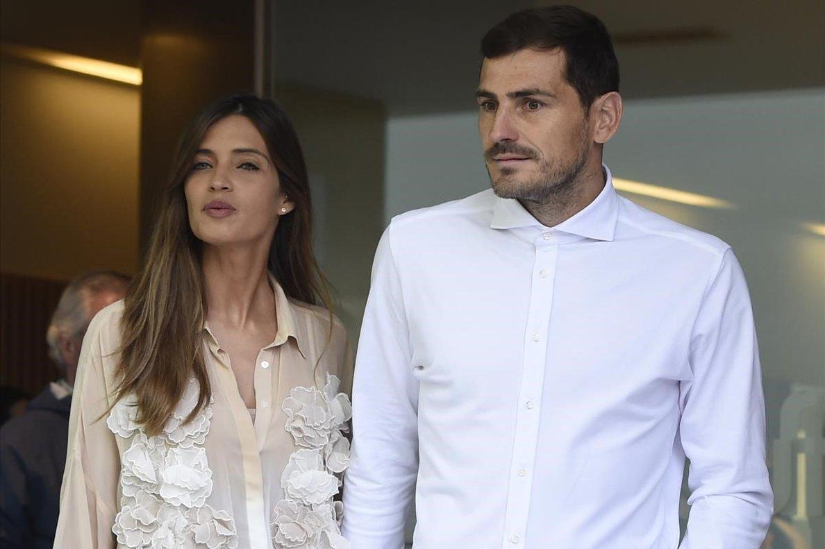 Iker Casillas y su esposaSara Carbonero, en mayo del 2019.