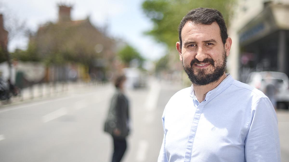 Rubén Guijarro, alcaldable del PSC en Badalona.
