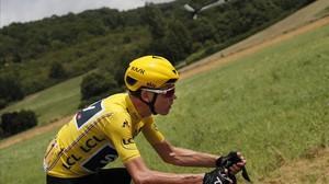 Froome arriba al seu jardí dels Pirineus al Tour de França