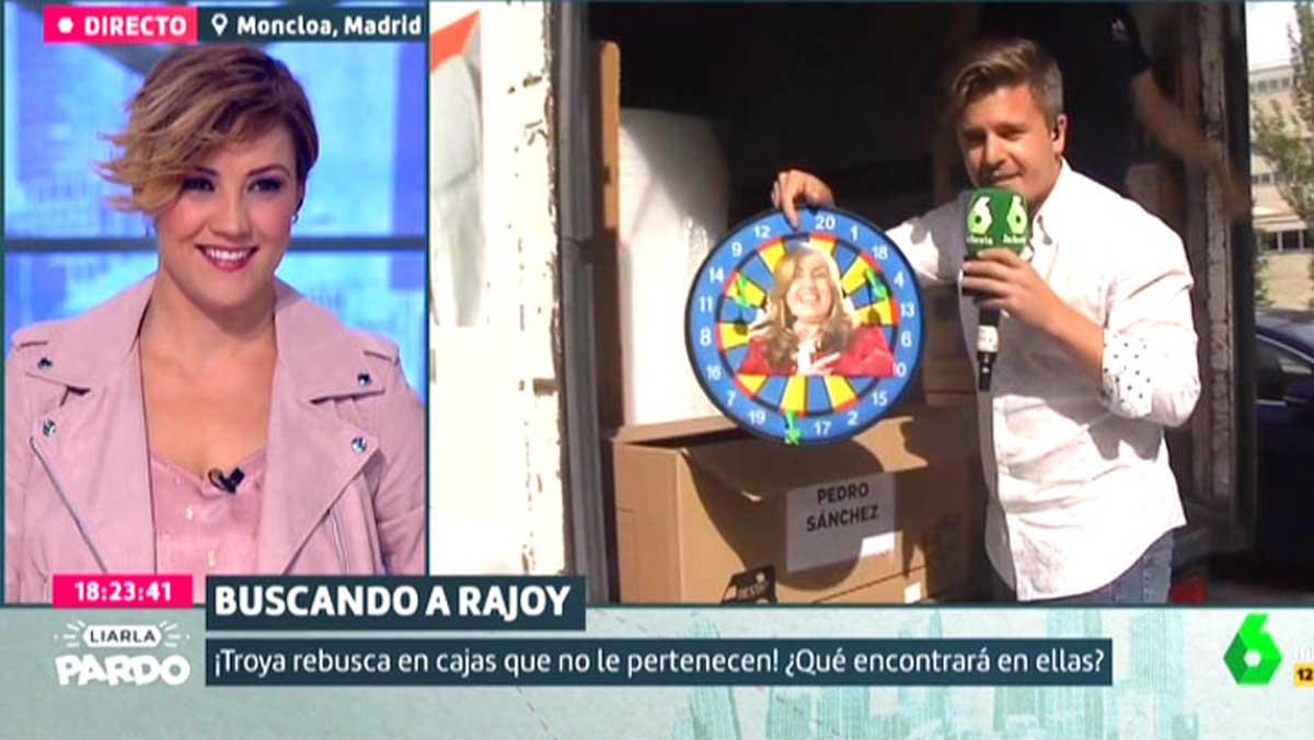 Mudanza en La Moncloa (Liarla Pardo).