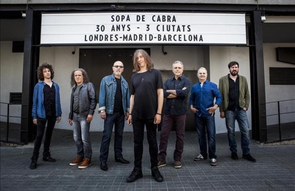Sopa de Cabra celebrará sus 30 años en Barcelona, Madrid y... Londres