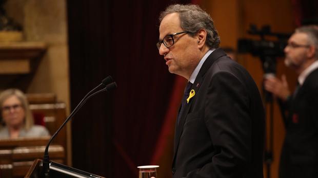 Torra negociará con Sánchez pero dice que no habrá rendición independentista.
