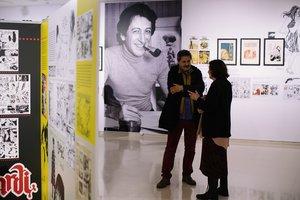 Aspecto de esta exposición dedicada al dibujante.