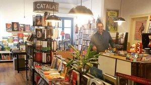 Una imagen de la librería Bookman de Figueres.