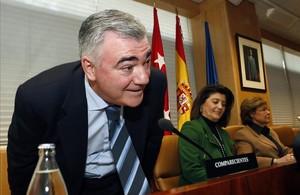 El exconsejero de Medio Ambiente Carlos Mayor Oreja.