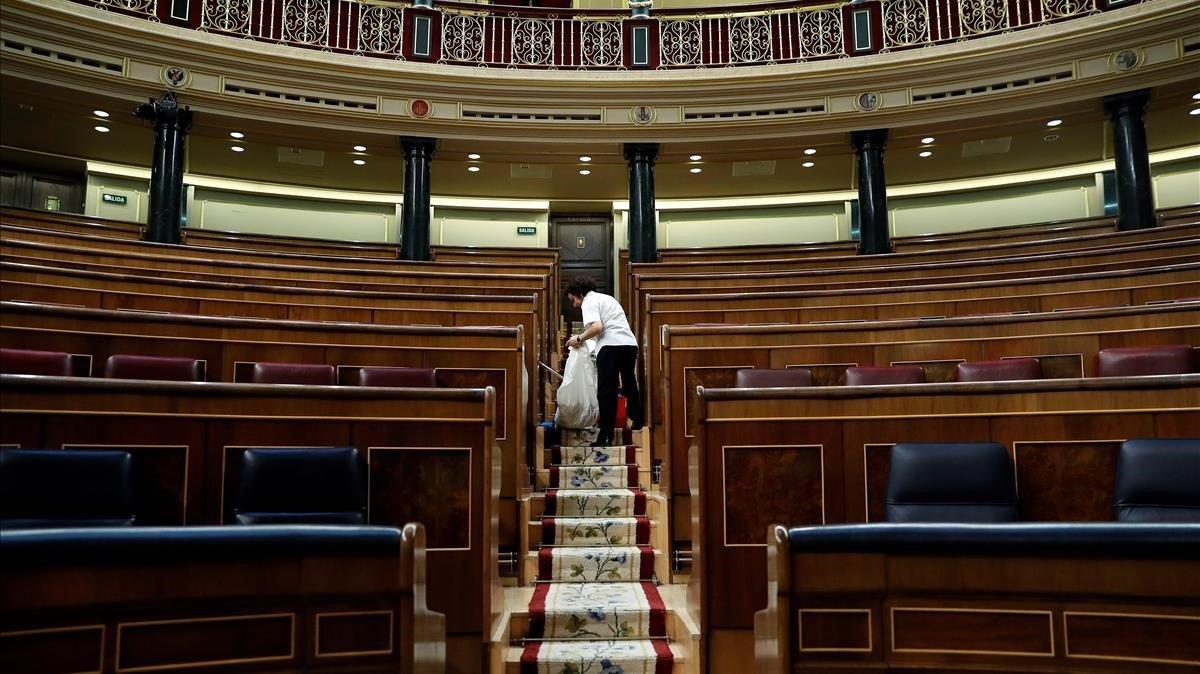 Final de la legislatura amb menys lleis de la història