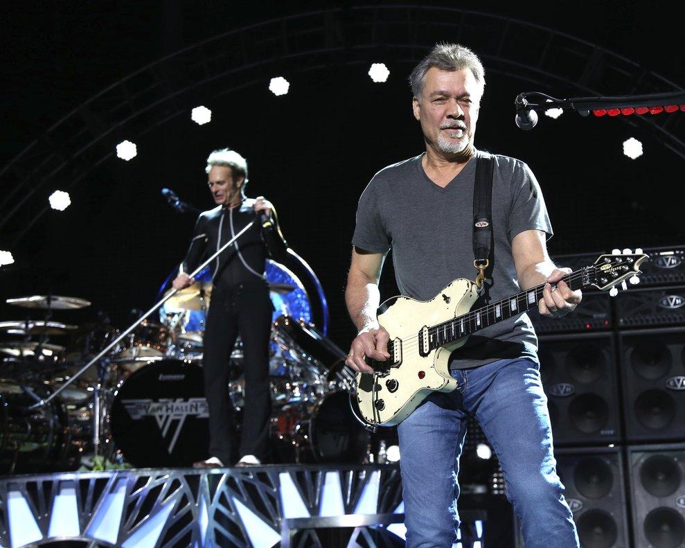 Van Halen murió a los 65 años víctima del cáncer.