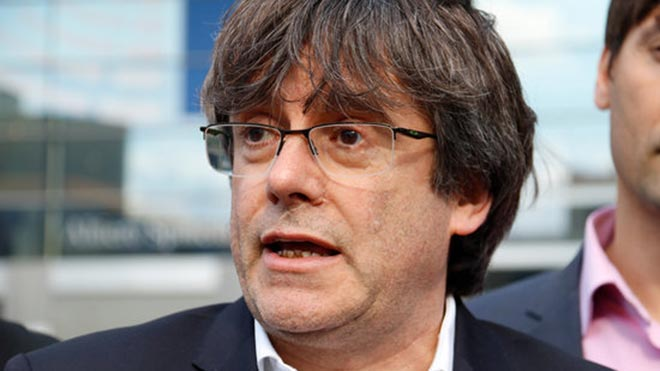 El Parlament Europeu prohibeix l'entrada a Puigdemont i Comín