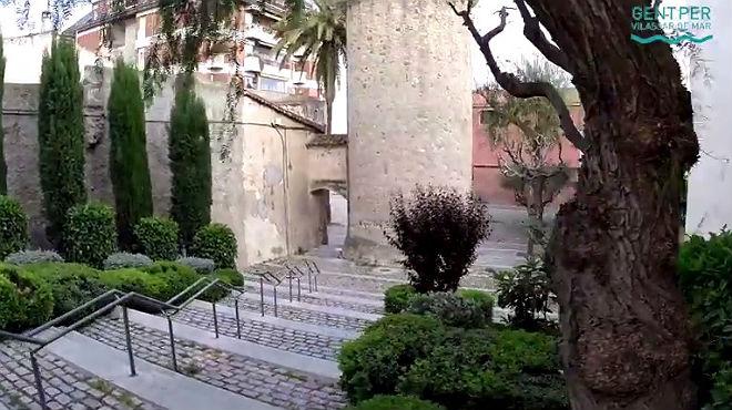 Vistas aéreas del municipio de Vilassar de Mar se suceden en el vídeo de campaña de Gent de Vilassar de Mar.