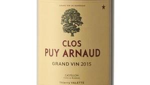 Clos Puy Arnaud 2015, biodinámico y elegante