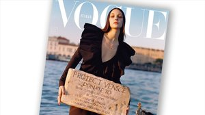 Portada de la tevista 'Vogue Italia'.