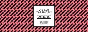 Uno de los carteles del Fashion Revolution Day