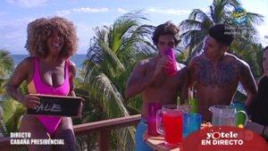 Yiya, Alejandro Reyes y Ferre en 'Supervivientes 2020'.