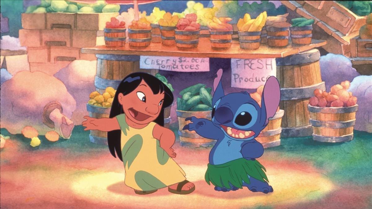 Fotograma de la película Lilo y Stitch, de Disney