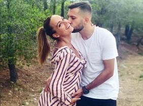 Jordi Alba i Romarey Ventura esperen el primer fill