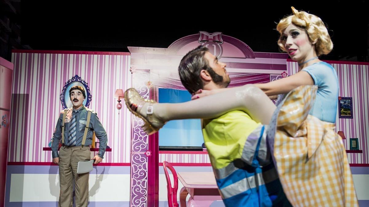 Alpenstock, comedia de la Companyia Obskene, estrenada esta temporada en elTeatre Tantarantana.