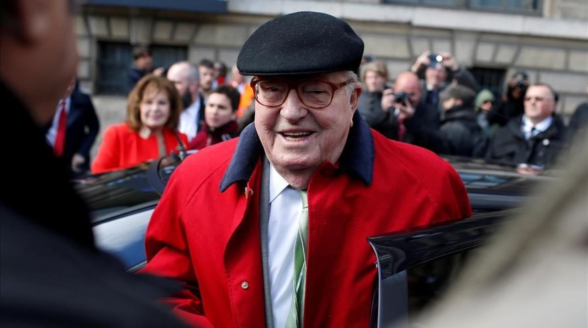 Jean-Marie Le Pen en mayo del 2017.