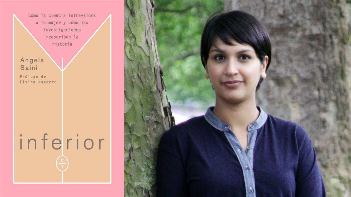 La periodista cientifica Angela Saini, autora de Inferiores (Círculo de Tiza, 2018)