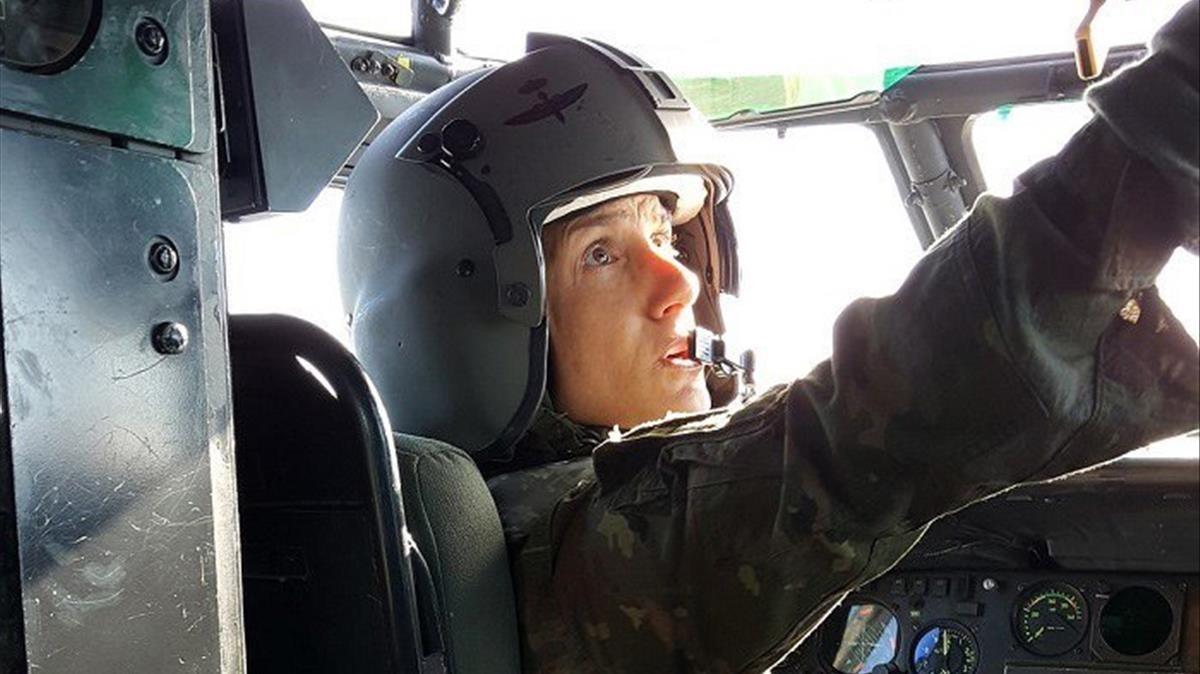 Una dona manarà un batalló d'helicòpters de l'Exèrcit espanyol a l'Iraq