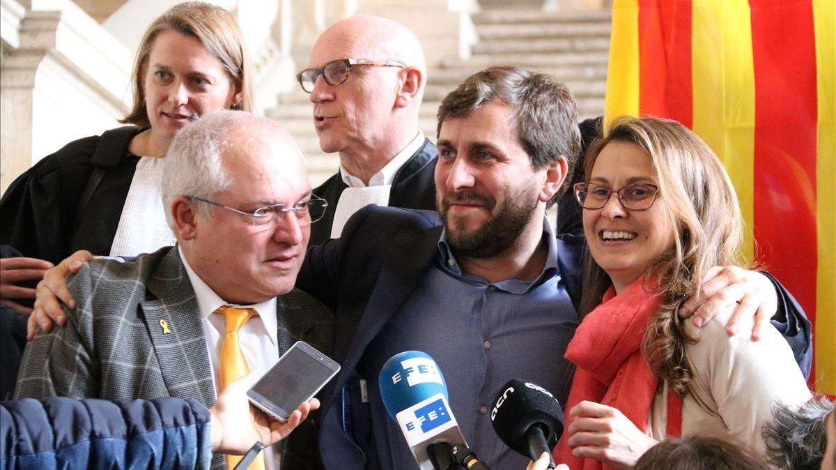 """El Suprem acusa Bèlgica de """"falta de compromís"""" per rebutjar l'euroordre"""