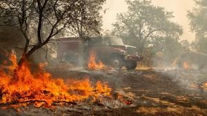 El último gran incendio en California, sin final a la vista
