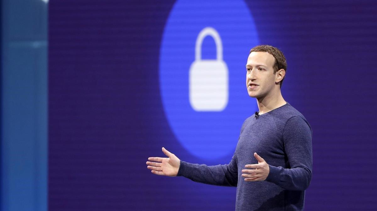 Mark Zuckerberg, CEO de Facebook, durante una conferencia en San Jose (EEUU), el pasado mes de mayo.