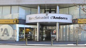 Oficina central del BancSabadell de Andorra.