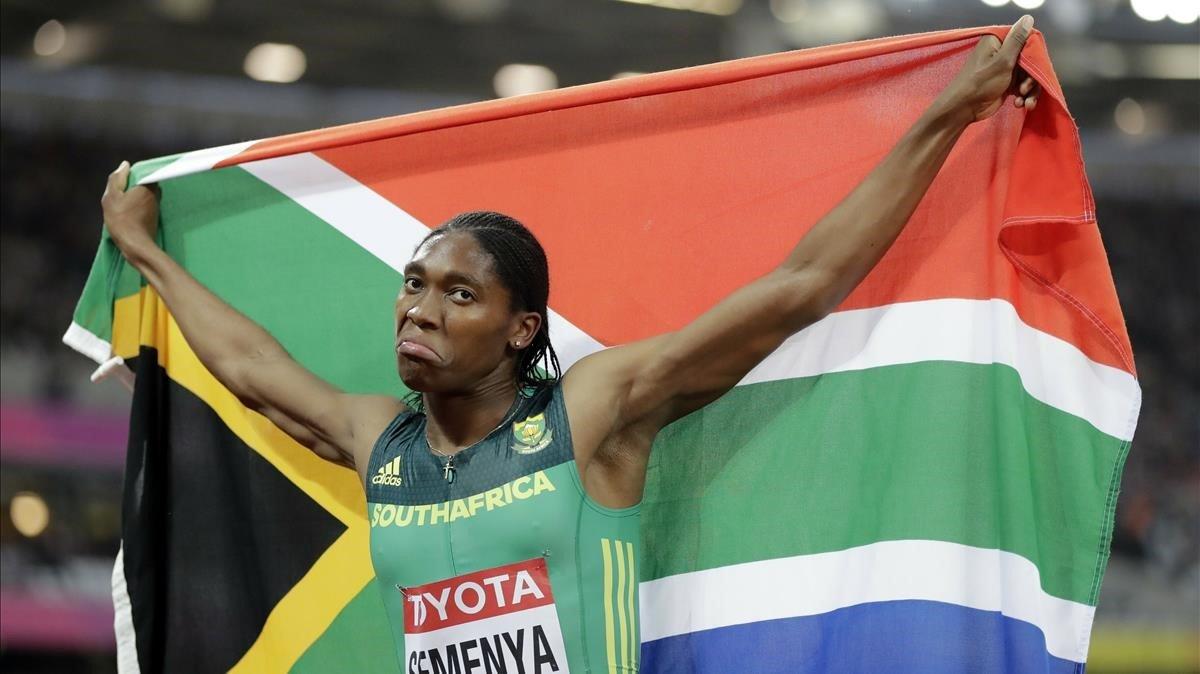 El TAS exigeix que Semenya redueixi la seva testosterona per competir entre dones