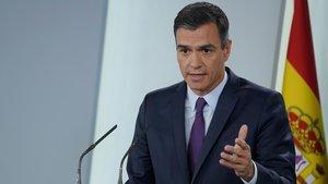 Sánchez ajusta comptes amb el seu passat en la investidura