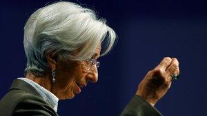 Lagarde anuncia una «revisió estratègica» de la política monetària del BCE a curt termini