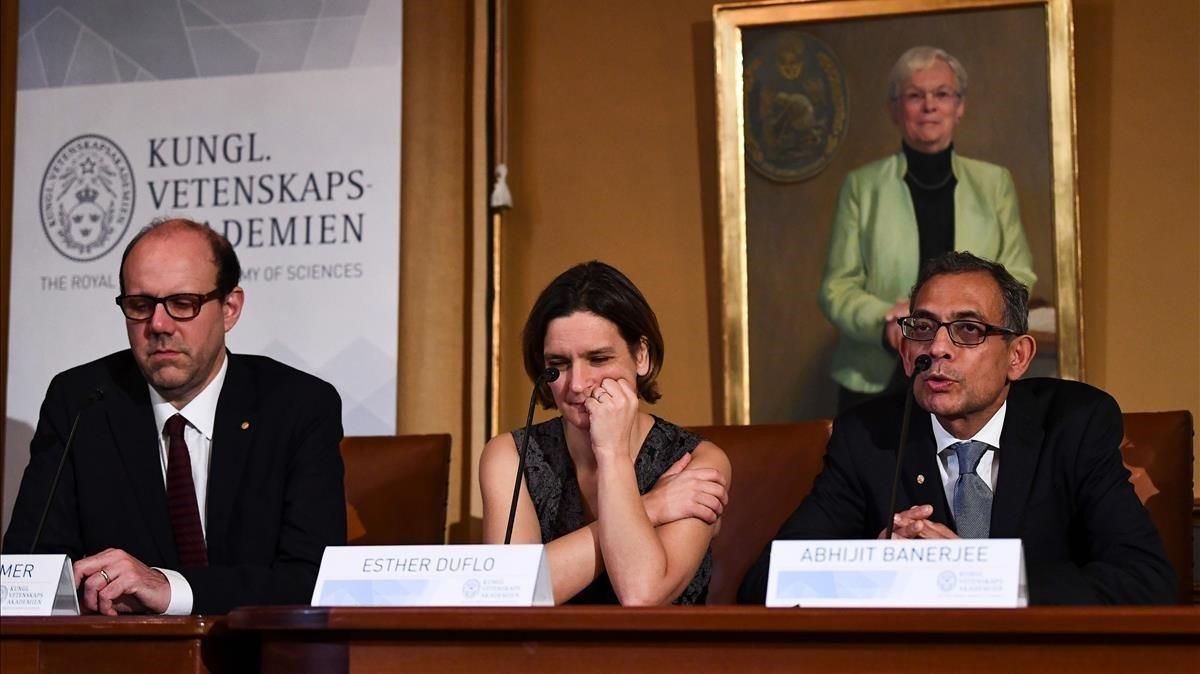 Varios de los Nobel que han instado a actuar contra la crisis climática.