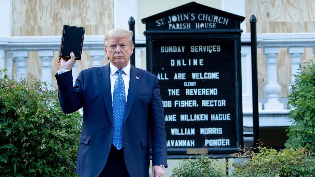 Trump amenaça de desplegar l'Exèrcit contra els manifestants
