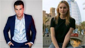 Mario Casas i Débora François passegen el seu amor per Barcelona
