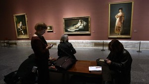 Cuadros de Goya en el Museo del Prado.