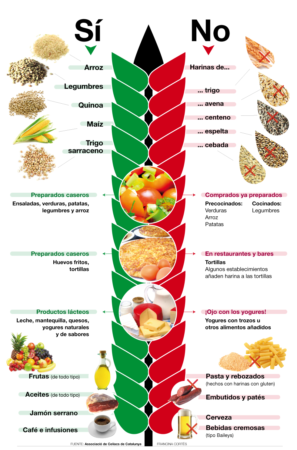Alimentos que son aptos para personas celiacas - Anemia alimentos recomendados ...