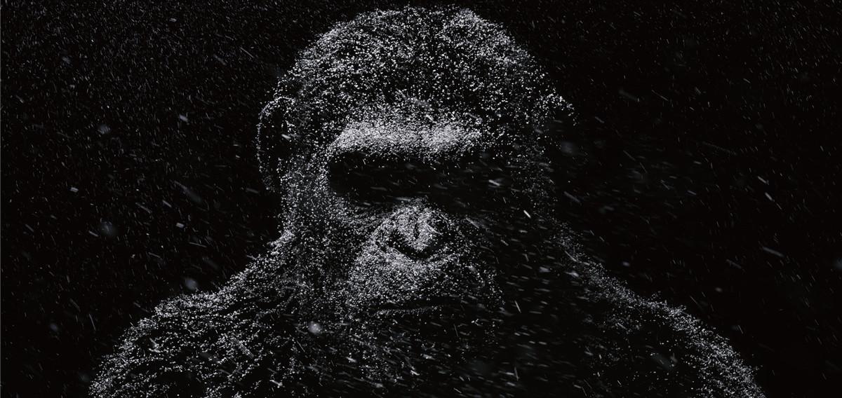 Un fotograma de La guerra del planeta de los simios.