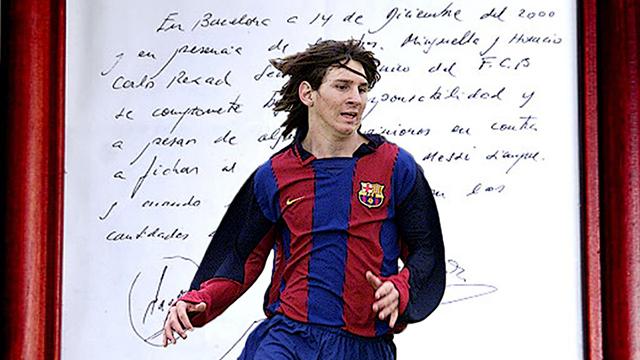 20 anys de Messi a Barcelona: la història d'amor que gairebé acaba en drama