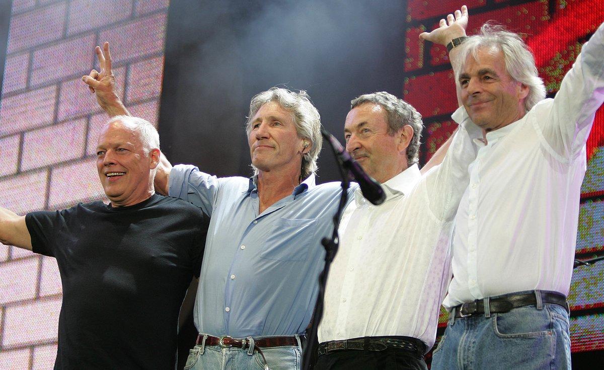 Su último encuentro,en el concierto Live 8 en 2005.