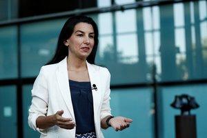 La candidata de Vox en la Comunidad de Madrid, Rocío Monasterio.