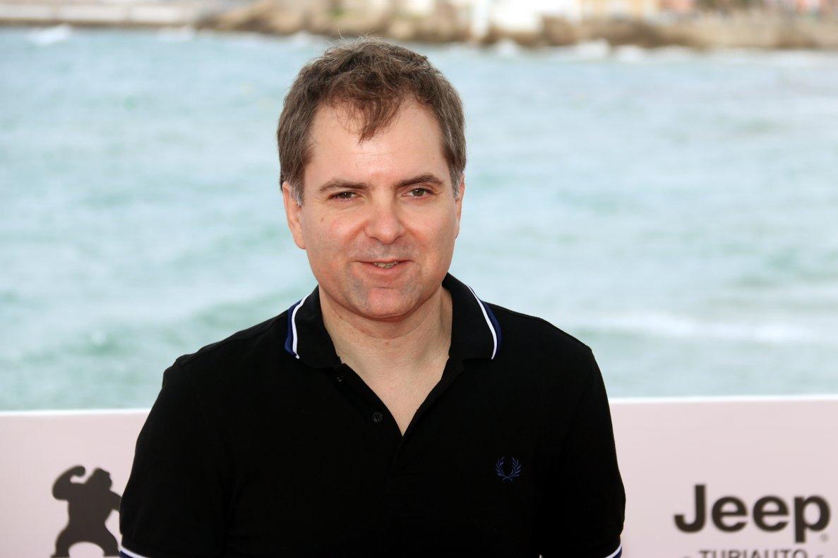 El director,Galder Gaztelu-Urrutia, en el Festival deSitges.