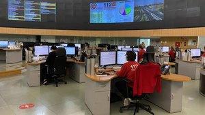 Un incendi a Guadalajara provoca més de 700 trucades per forta olor de cremat a Madrid