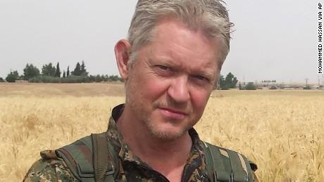 Michel Enright, un actor de 'Piratas del Caribe', se ha desplazado a Siria para luchar contra el EstadoIslámico.