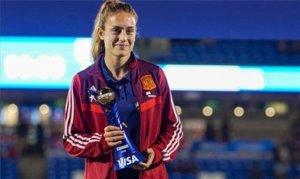 Alexia Putellas, elegida mejor jugadora de la 'She Believes Cup'.