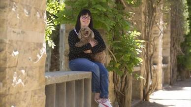 """Anna Vives, diseñadora con síndrome de Down: """"Siempre encuentro gente que me ayuda"""""""