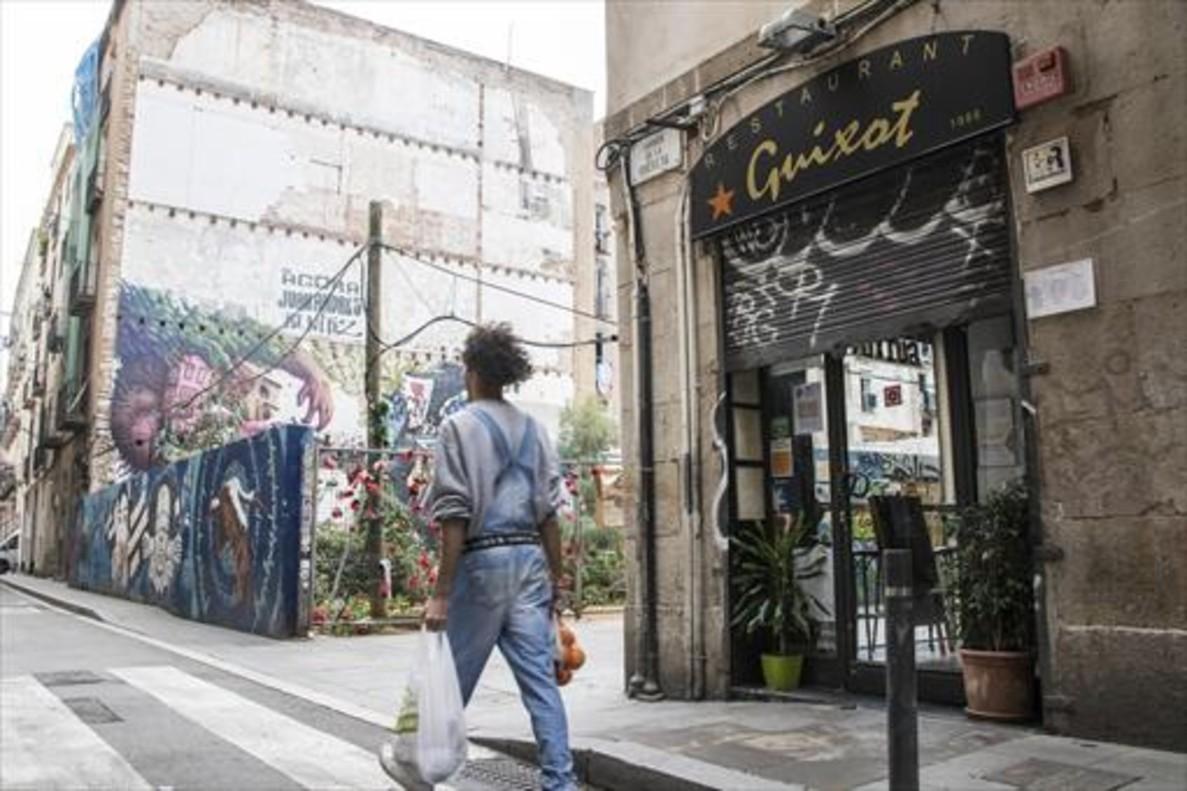 El antiguo bar feminista La Sal, ahora restaurante Guixot, en la calle de Riereta.