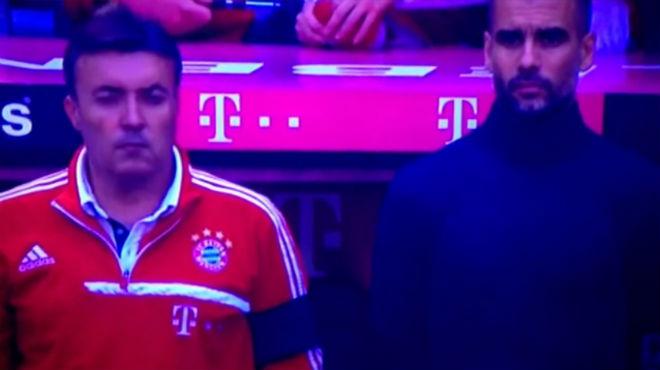 El Bayern guarda un minuto de silencio en recuerdo a Tito Vilanova antes de empezar su partido contra el Werder Bremen